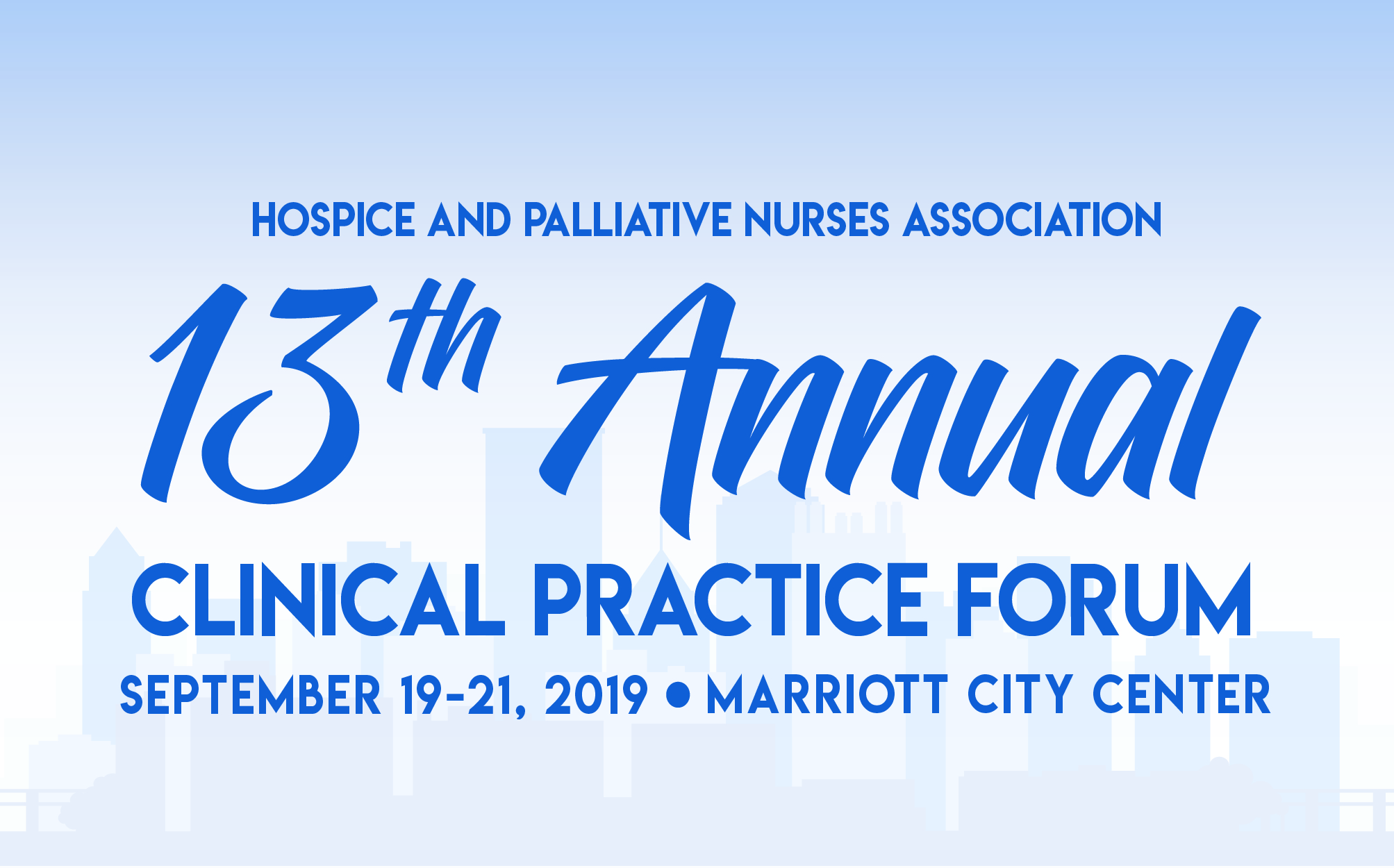 13th Annual HPNA Clinical Practice Forum